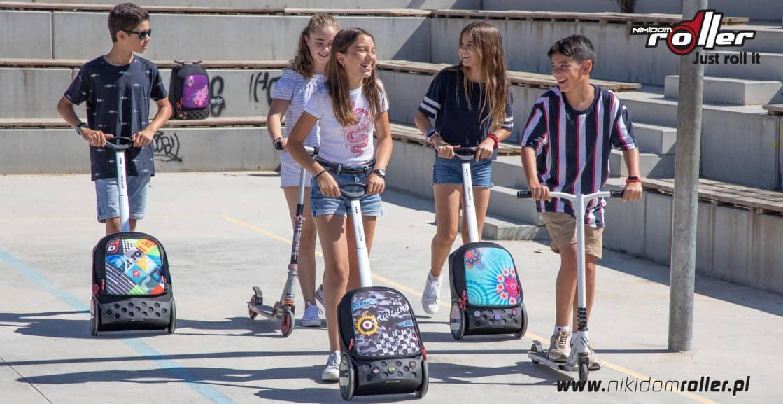 plecaki szkolne Nikidom Roller